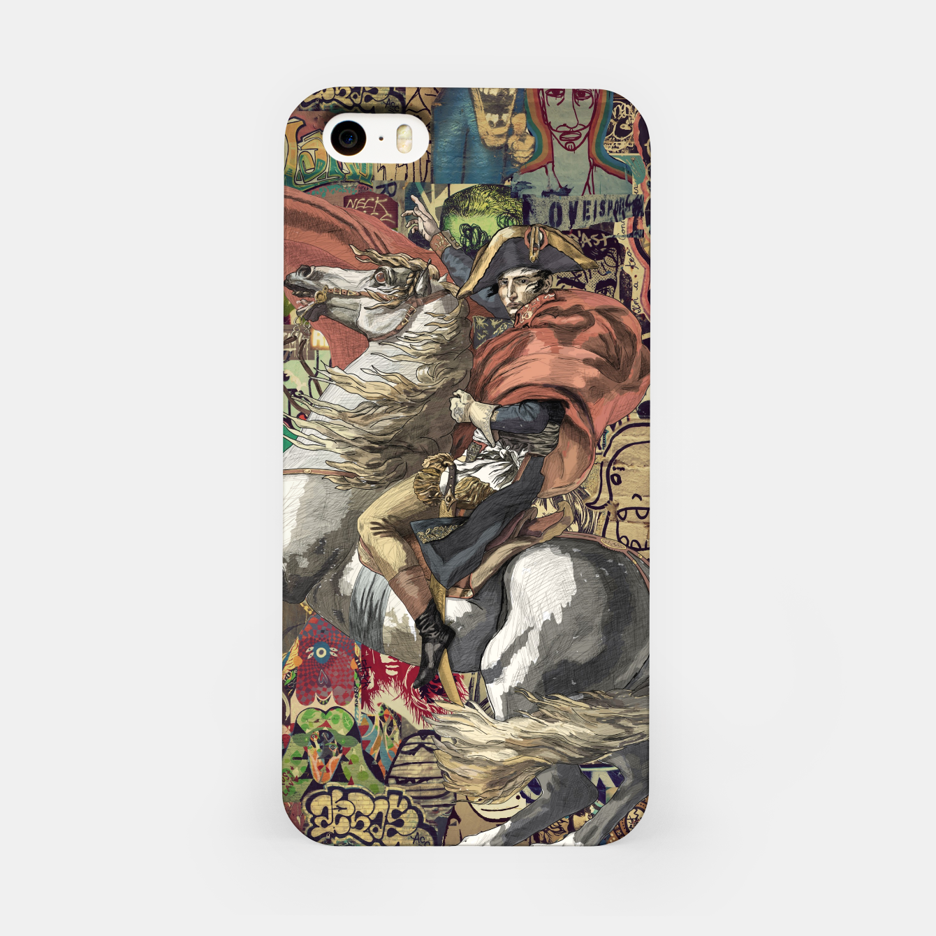 Zdjęcie Laser Guided Democracy iPhone Case - Live Heroes