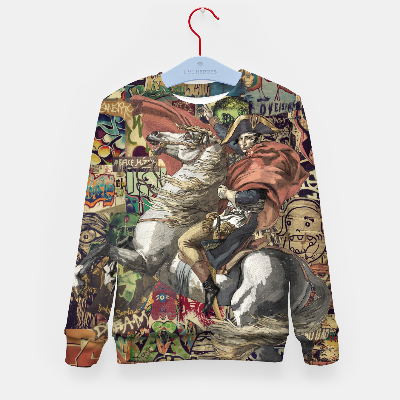Image of Laser Guided Democracy Kid's sweater - Live Heroes