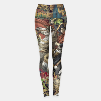 Miniatur Laser Guided Democracy Leggings, Live Heroes