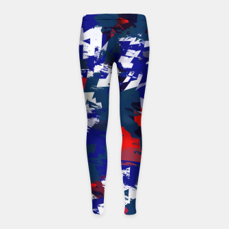 Thumbnail image of SAHARASTREET-SS113 Girl's leggings, Live Heroes