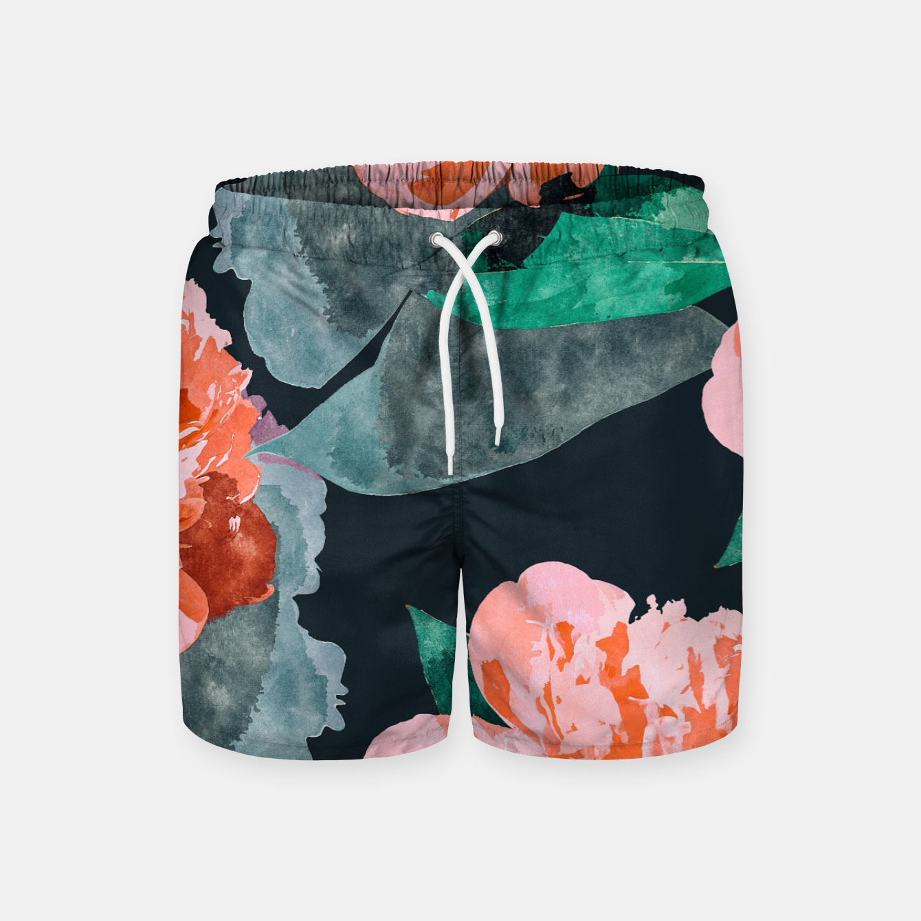 Image of The Joy Of Missing Out II Swim Shorts - Live Heroes
