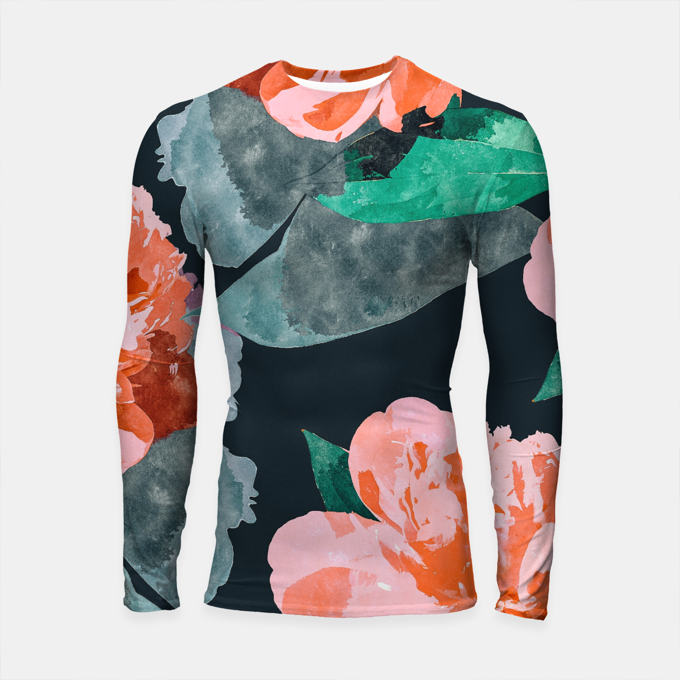 Image of The Joy Of Missing Out II Longsleeve rashguard  - Live Heroes