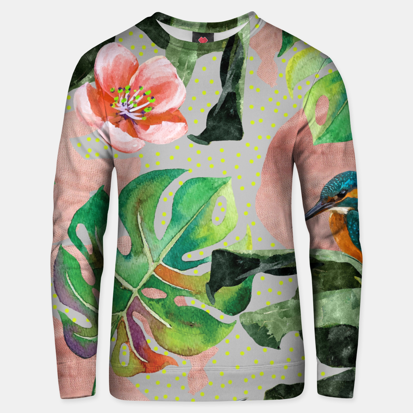 Foto Bird Sanctuary Unisex sweater - Live Heroes