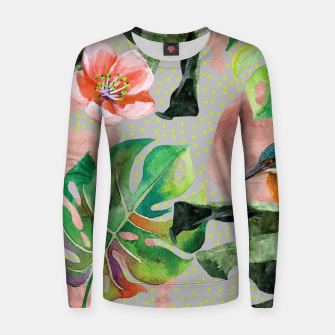 Miniatur Bird Sanctuary Women sweater, Live Heroes