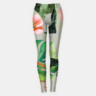 Bird Sanctuary Leggings Bild der Miniatur