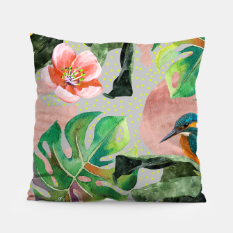 Miniatur Bird Sanctuary Pillow, Live Heroes