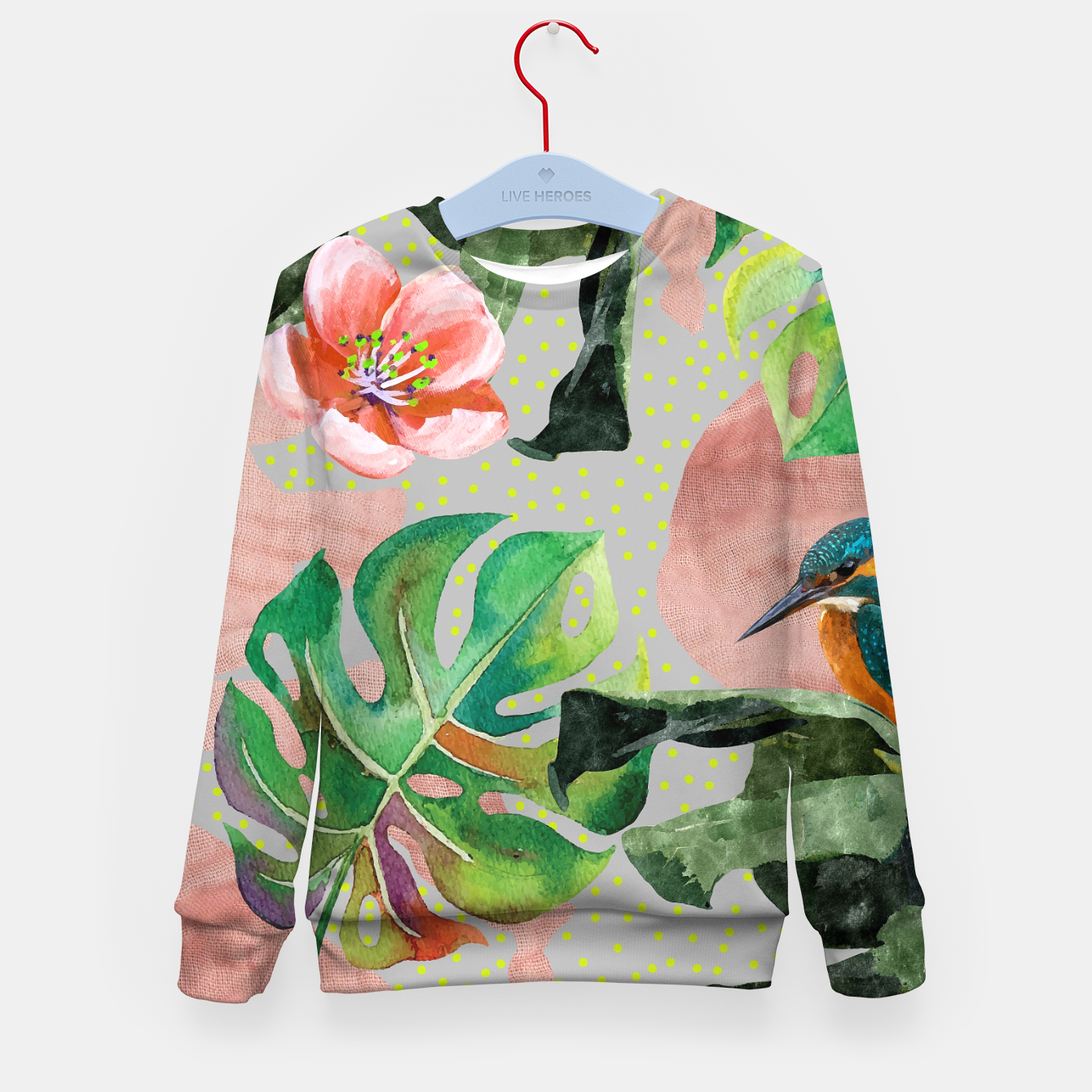 Image of Bird Sanctuary Kid's sweater - Live Heroes