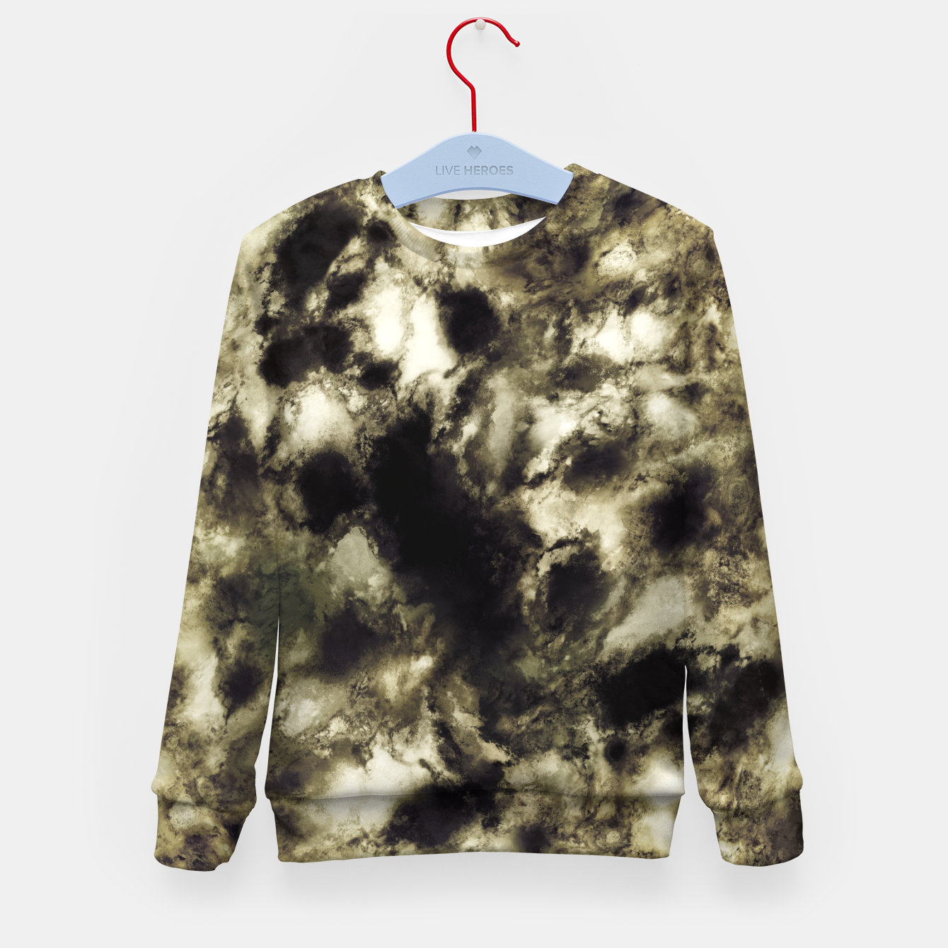 Image of Suspend a moment Kid's sweater - Live Heroes