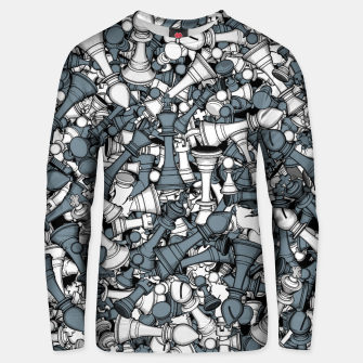 Thumbnail image of Chess Master Unisex sweater, Live Heroes