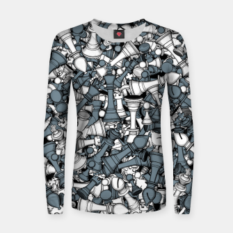 Thumbnail image of Chess Master Women sweater, Live Heroes