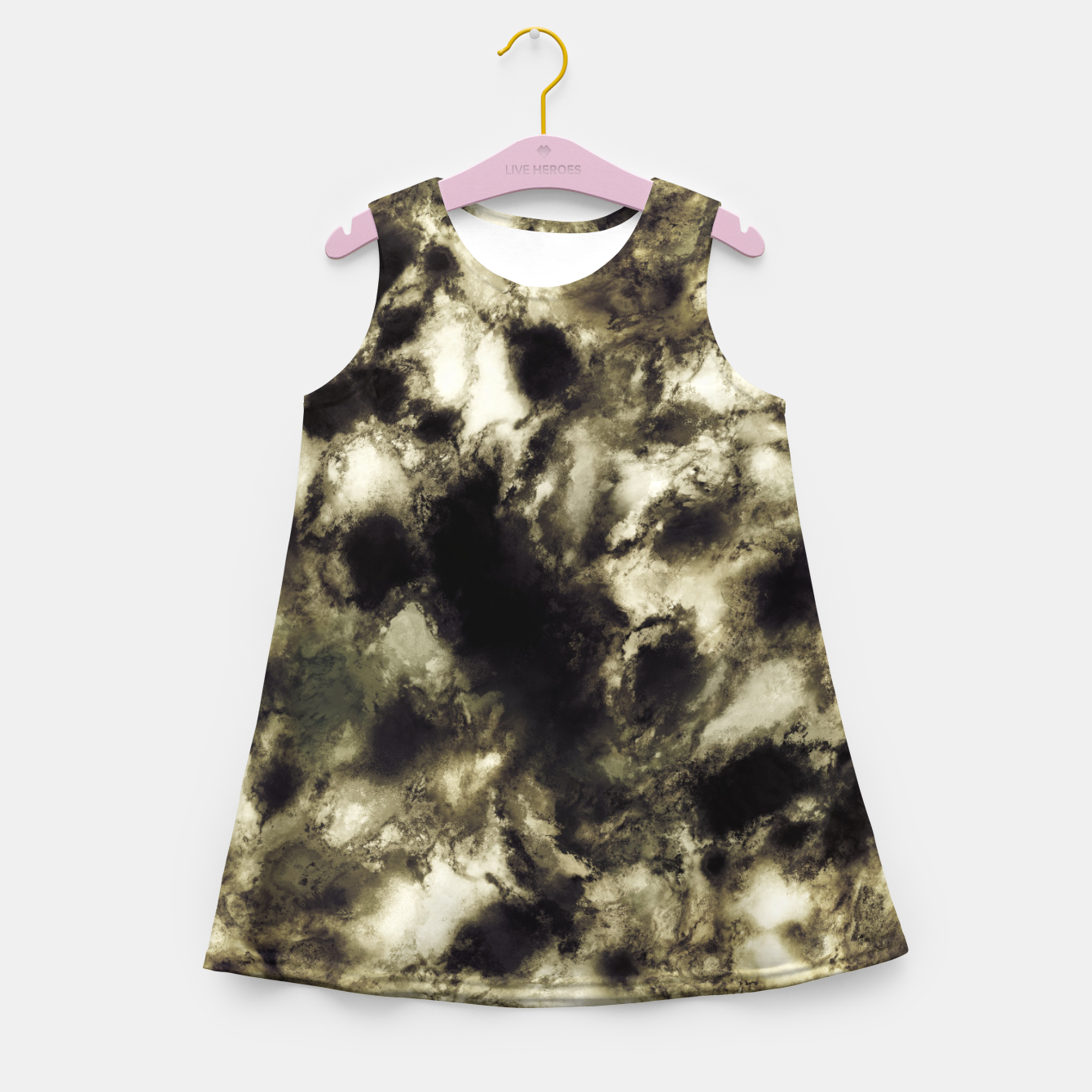 Image of Suspend a moment Girl's summer dress - Live Heroes