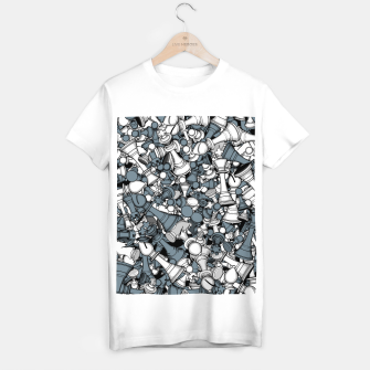 Thumbnail image of Chess Master T-shirt regular, Live Heroes