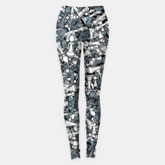 Thumbnail image of Chess Master Leggings, Live Heroes