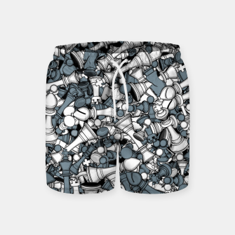 Thumbnail image of Chess Master Swim Shorts, Live Heroes