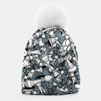 Thumbnail image of Chess Master Beanie, Live Heroes