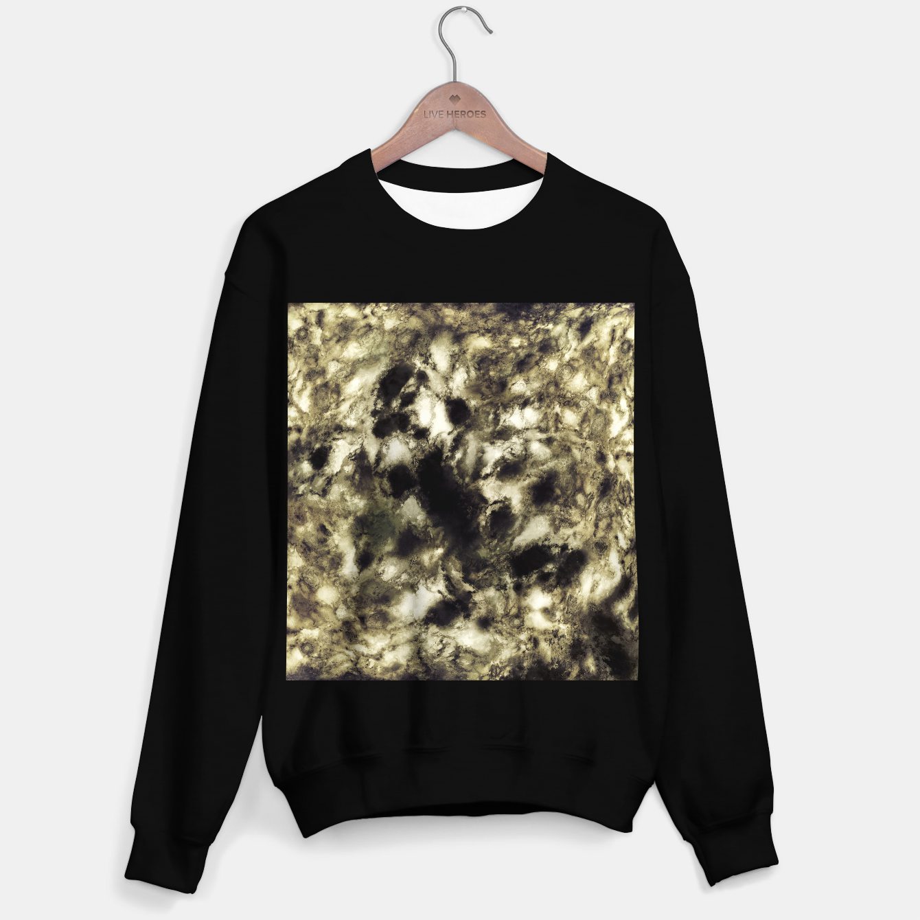 Image of Suspend a moment Sweater regular - Live Heroes