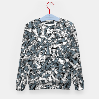 Thumbnail image of Chess Master Kid's sweater, Live Heroes