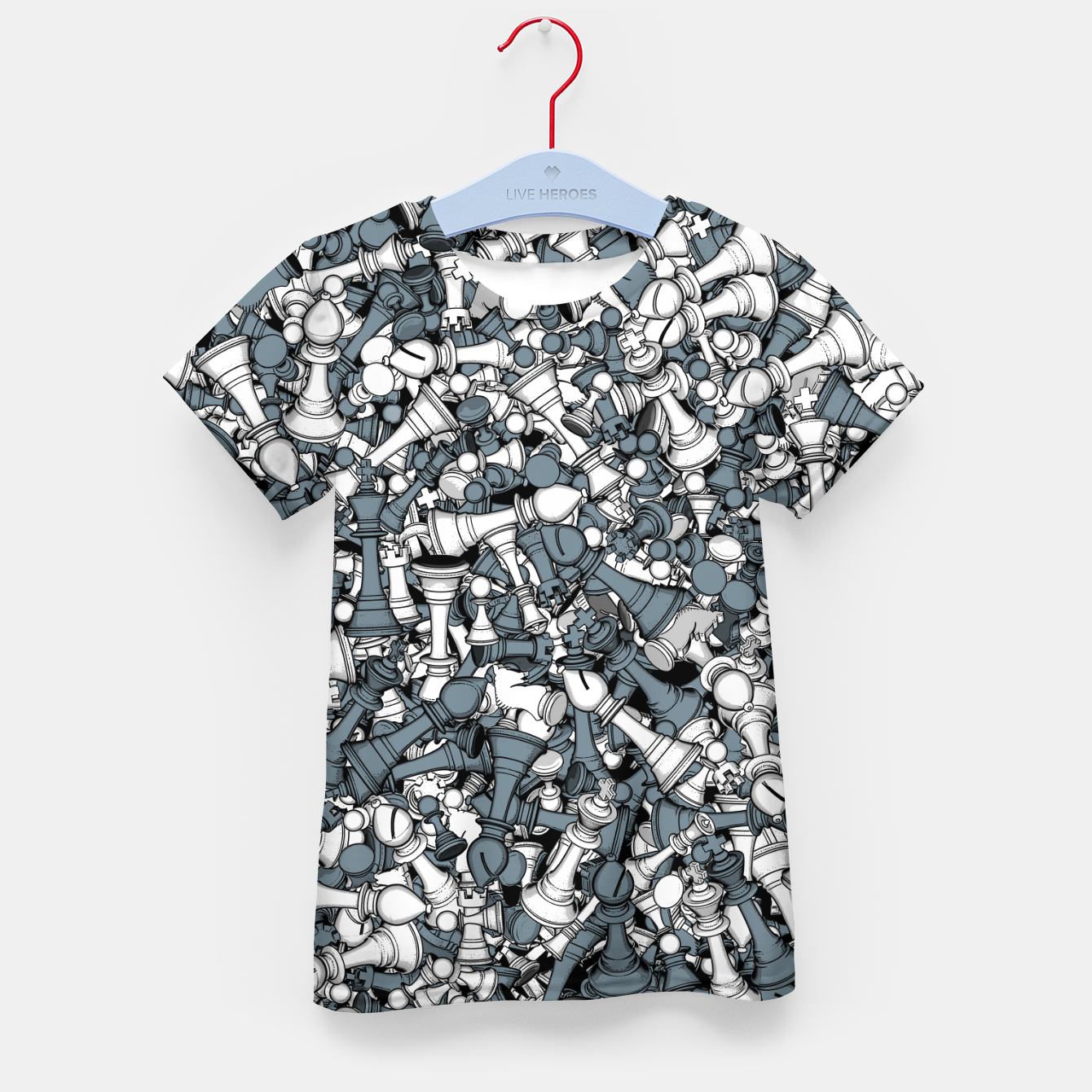 Image of Chess Master Kid's t-shirt - Live Heroes