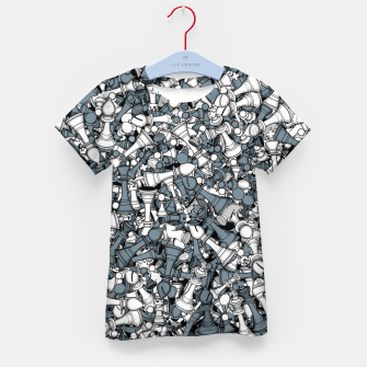 Thumbnail image of Chess Master Kid's t-shirt, Live Heroes