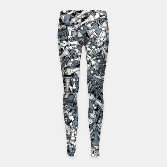 Thumbnail image of Chess Master Girl's leggings, Live Heroes