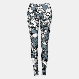 Miniatur Chess Master Leggings, Live Heroes