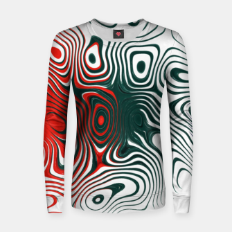 Thumbnail image of Abstract Boxes Women sweater, Live Heroes