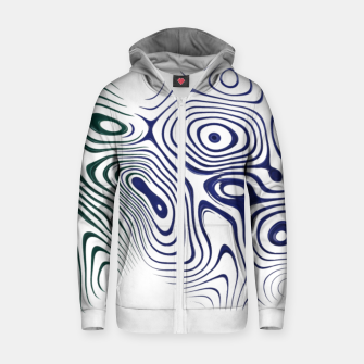 Thumbnail image of Abstract Boxes Zip up hoodie, Live Heroes