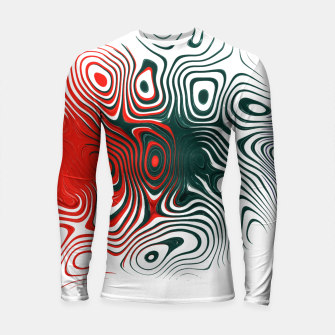 Thumbnail image of Abstract Boxes Longsleeve rashguard , Live Heroes