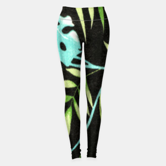 Thumbnail image of Tropical Leaf Leggings, Live Heroes