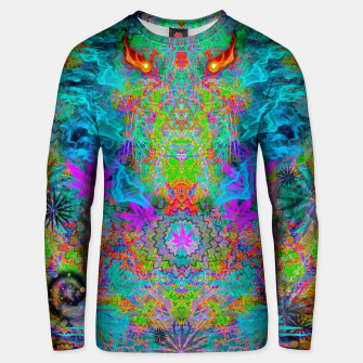 Thumbnail image of Dragon Smoke (psychedelic, visionary) Unisex sweater, Live Heroes