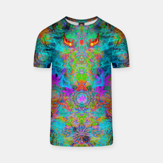 Miniatur Dragon Smoke (psychedelic, visionary) T-shirt, Live Heroes