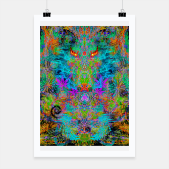 Miniatur Dragon Smoke (psychedelic, visionary) Poster, Live Heroes