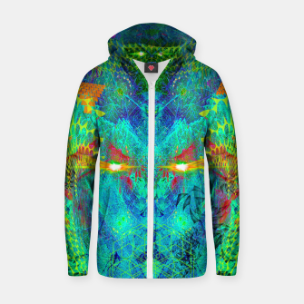 Miniatur The Archon's Stare (visionary, psychedelic) Zip up hoodie, Live Heroes