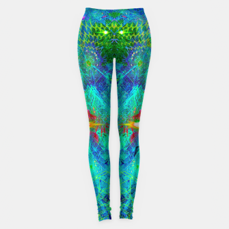 Miniatur The Archon's Stare (visionary, psychedelic) Leggings, Live Heroes
