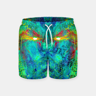 Miniatur The Archon's Stare (visionary, psychedelic) Swim Shorts, Live Heroes