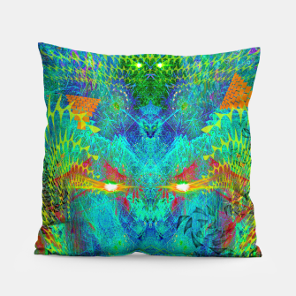 Miniatur The Archon's Stare (visionary, psychedelic) Pillow, Live Heroes