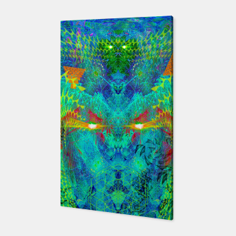 Miniatur The Archon's Stare (visionary, psychedelic) Canvas, Live Heroes