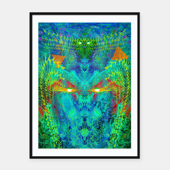 Miniatur The Archon's Stare (visionary, psychedelic) Framed poster, Live Heroes