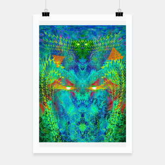 Miniatur The Archon's Stare (visionary, psychedelic) Poster, Live Heroes