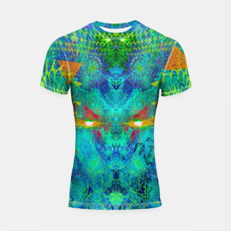 Miniatur The Archon's Stare (visionary, psychedelic) Shortsleeve rashguard, Live Heroes