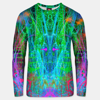 Thumbnail image of The Crystalline Androgyne (visionary, surreal, psychedelic) Unisex sweater, Live Heroes