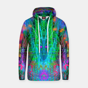 Thumbnail image of The Crystalline Androgyne (visionary, surreal, psychedelic) Hoodie, Live Heroes