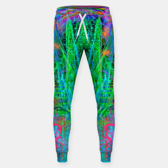 Miniature de image de The Crystalline Androgyne (visionary, surreal, psychedelic) Sweatpants, Live Heroes