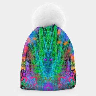 Thumbnail image of The Crystalline Androgyne (visionary, surreal, psychedelic) Beanie, Live Heroes