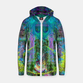 Miniature de image de The Mouth of Crystal Waves Zip up hoodie, Live Heroes