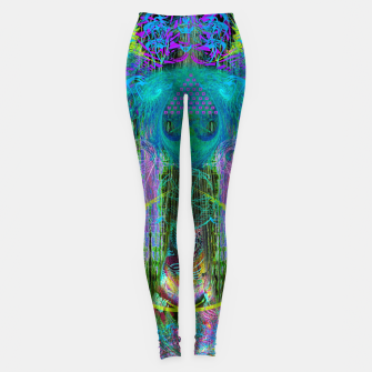 Miniature de image de The Mouth of Crystal Waves Leggings, Live Heroes