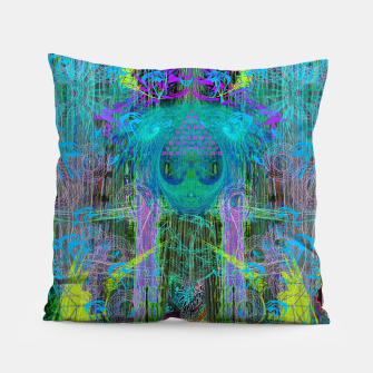 Miniature de image de The Mouth of Crystal Waves Pillow, Live Heroes