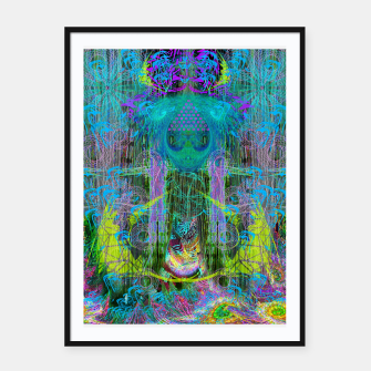 Miniature de image de The Mouth of Crystal Waves Framed poster, Live Heroes
