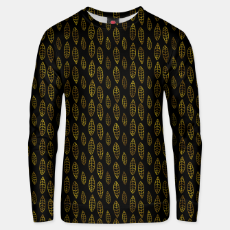 Simple Gold Pattern - 03 Unisex sweater Bild der Miniatur