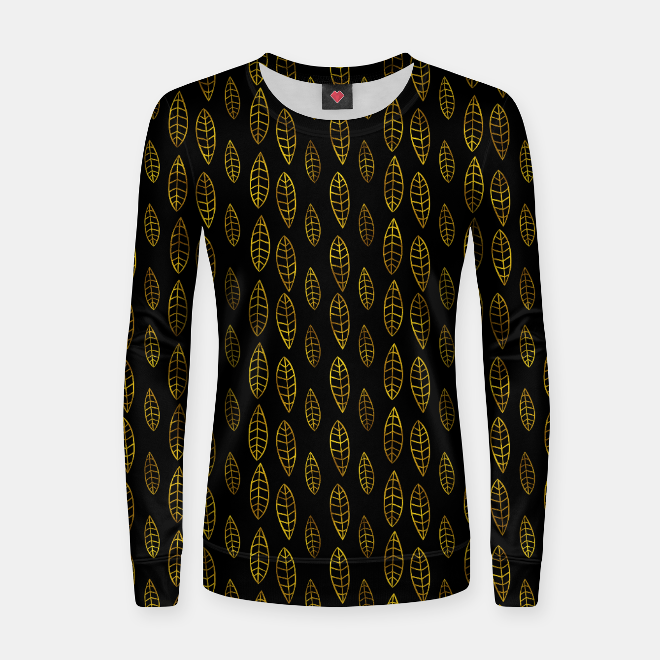 Foto Simple Gold Pattern - 03 Women sweater - Live Heroes